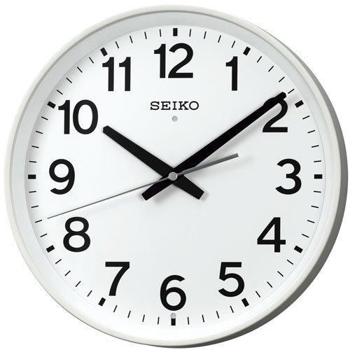 SEIKO CLOCK (セイコー クロック) 掛時計/掛け時計 スイープ アナログ 電波時計 KX317W