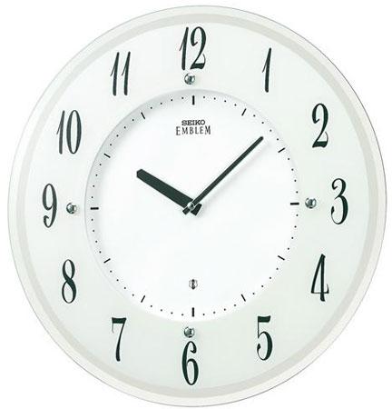 SEIKO EMBLEM(セイコー エンブレム) 掛け時計/壁掛け時計 ソーラータイプ HS533W 【セイコー エムブレム】【P20】【楽ギフ_のし】【楽ギフ_名入れ】
