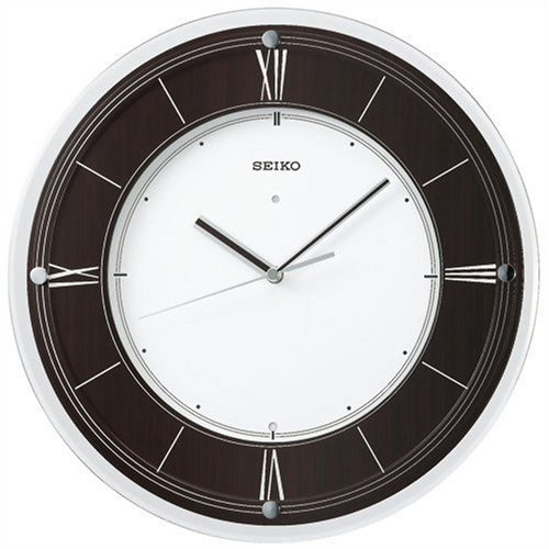 【名入れ 文字入れ無料】SEIKO CLOCK (セイコー クロック) 掛時計/掛け時計 インターナショナル・コレクション 電波時計 木枠 KX321B
