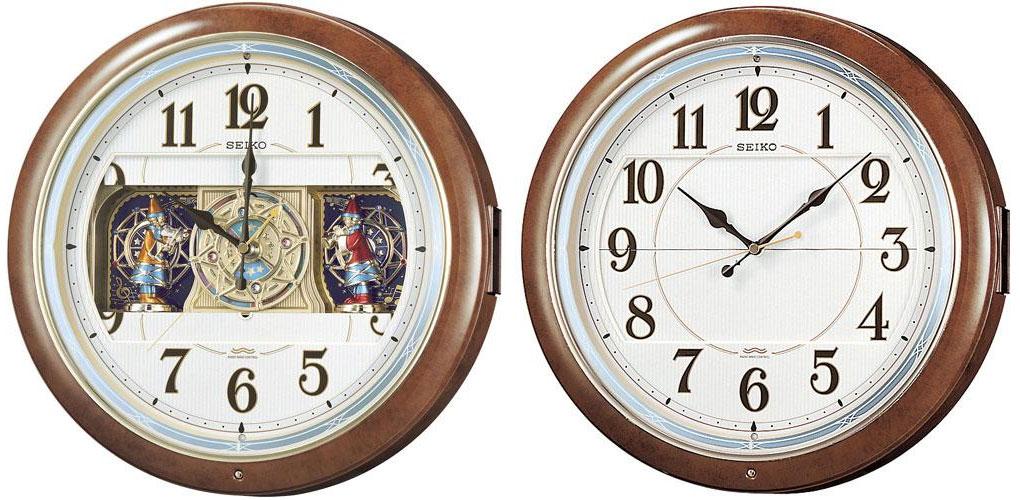 SEIKO CLOCK (セイコー クロック) 電波式 掛時計/掛け時計 ウエーブシンフォニー RE559H