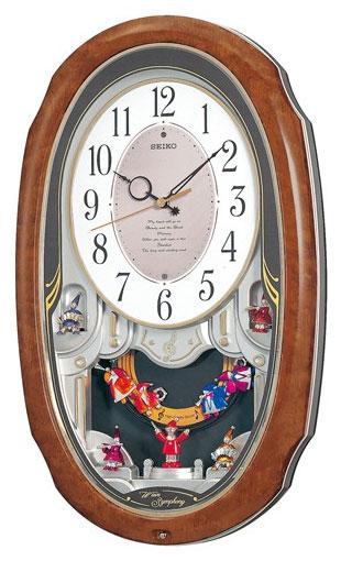 【名入れ 文字入れ無料】SEIKO CLOCK (セイコー クロック) 電波式 掛時計/掛け時計 ウエーブシンフォニー AM213H