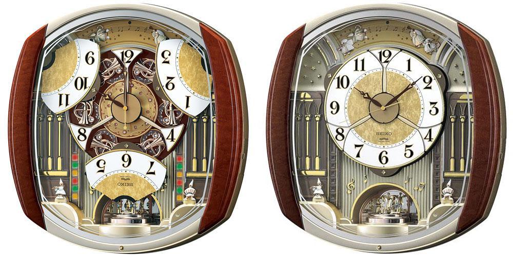 SEIKO CLOCK (セイコー クロック) 電波式 掛時計/掛け時計 ウエーブシンフォニー RE564H