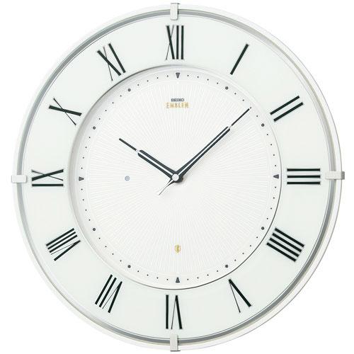 SEIKO EMBLEM(セイコー エンブレム) 掛け時計/壁掛け時計 HS542W(薄型モデル)【セイコー エムブレム】【P20】【楽ギフ_のし】【楽ギフ_名入れ】