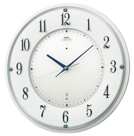 SEIKO EMBLEM(セイコー エンブレム) 掛け時計/壁掛け時計 HS543W 【セイコー エムブレム】【P20】【楽ギフ_のし】【楽ギフ_名入れ】