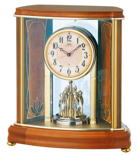 SEIKO EMBLEM(セイコー エンブレム) 置き時計/置時計 HW577B 【セイコー エムブレム】【P20】【楽ギフ_のし】【楽ギフ_名入れ】【DE】