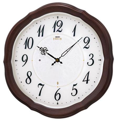 SEIKO EMBLEM(セイコー エンブレム) 掛け時計/壁掛け時計 HS544B 【セイコー エムブレム】【P20】【楽ギフ_のし】【楽ギフ_名入れ】