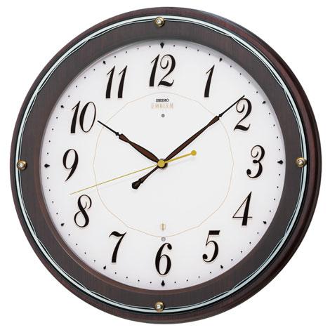 SEIKO EMBLEM(セイコー エンブレム) 掛け時計/壁掛け時計 HS545B 【セイコー エムブレム】【P20】【楽ギフ_のし】【楽ギフ_名入れ】