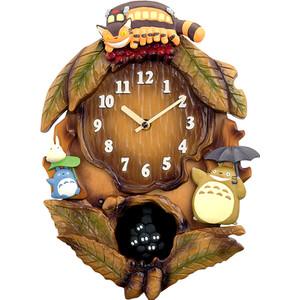 【掛け時計】リズム 振り子時計 トトロ クロック となりのトトロ 4MJ837MN06【RCP1209mara】【楽ギフ_のし】【楽ギフ_名入れ】