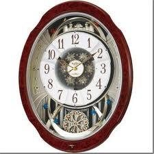 Small World (スモールワールド) 掛け時計 ブルームDX 電波時計 からくり時計 4MN499RH23【マラソン201211_生活】【RCP1209mara】