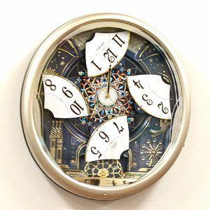 【期間限定 名入れ 文字入れ 無料】高音質 SEIKO セイコー 電波からくり掛け時計 ウェーブシンフォニー  RE561H