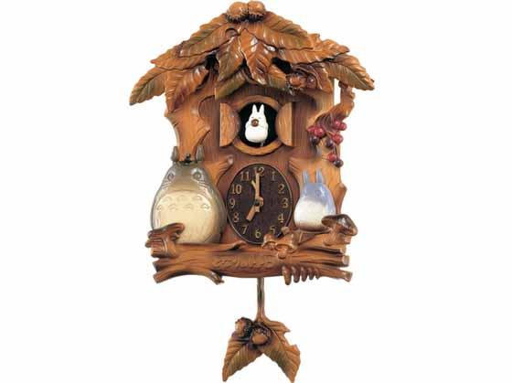 ★【送料 無料】★リズム時計 キャラクタークロック となりのトトロ 4MJ806MA06【楽ギフ_のし】【楽ギフ_名入れ】