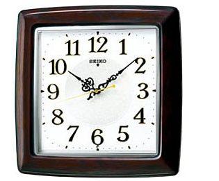 SEIKO CLOCK (セイコー クロック) 掛け時計 電波掛時計 木枠  KX377B KX377