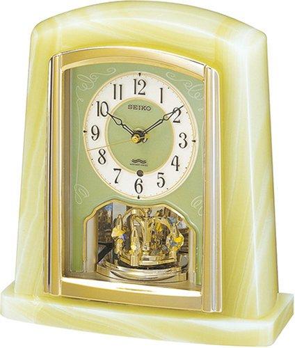 【名入れ 文字入れ無料】SEIKO CLOCK (セイコー クロック) 置時計/置き時計 電波時計 ツイン・パ BY223M