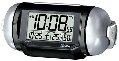 SEIKO CLOCK (セイコー クロック) PYXIS (ピクシス) 目覚まし時計 スーパーライデン デジタル 電波時計 大音量 NR523K