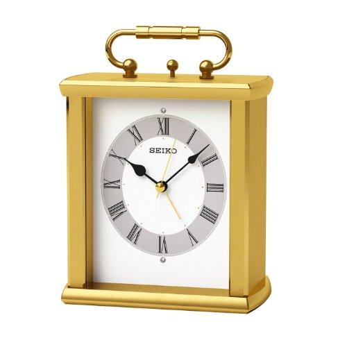 【名入れ 文字入れ無料】SEIKO CLOCK (セイコー クロック) 置時計/置き時計 スタンダード QK731G