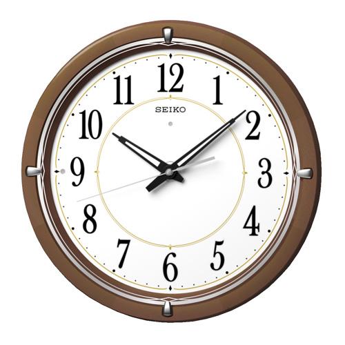 【期間限定 名入れ 文字入れ 無料】★【送料無料!】SEIKO CLOCK 掛け時計 KX395B 暗くなると光る時計【楽ギフ_のし】【楽ギフ_名入れ】