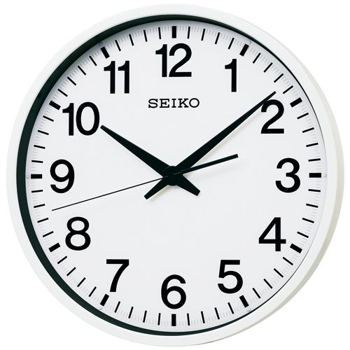 【期間限定 名入れ 文字入れ 無料】★【送料無料!】SEIKO CLOCK GP201W 衛星電波時計 掛け時計 壁掛け 電波時計 オフィス【楽ギフ_のし】【楽ギフ_名入れ】