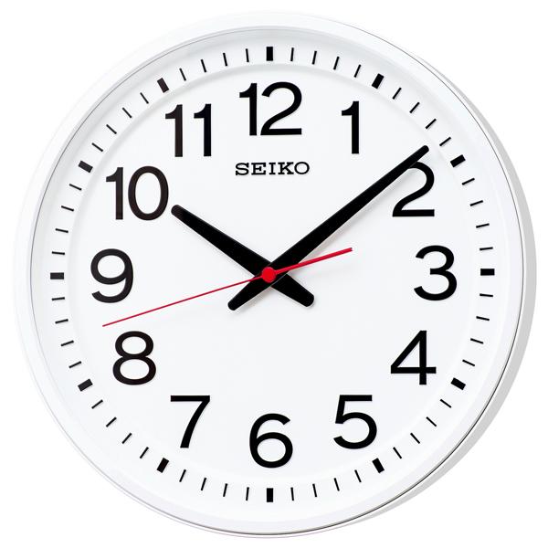 【期間限定 名入れ 文字入れ 無料】★【送料無料!】SEIKO CLOCK GP219W 衛星電波時計 掛け時計 壁掛け 電波時計 オフィス 教室【楽ギフ_のし】【楽ギフ_名入れ】