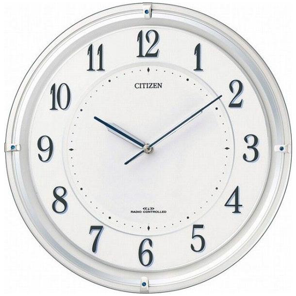 CITIZEN(シチズン) 掛時計 ソーラー電源(サイレントソーラー) サイレントソーラーM817 4MY817-003