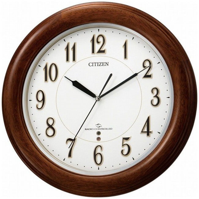 CITIZEN(シチズン) 掛時計 3電波対応(スリーウェイブ) スリーウェイブM824F 4MY824-N06