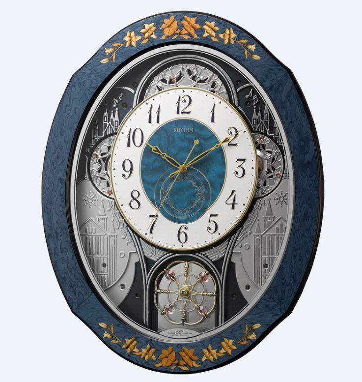 【名入れ 文字入れ 無料】★今だけさらに10%OFF★電波掛時計 プライムウィーブ 4MN527RH04 RHYTHM リズム時計 掛時計【RE10】【P10】【_のし】【_名入れ】
