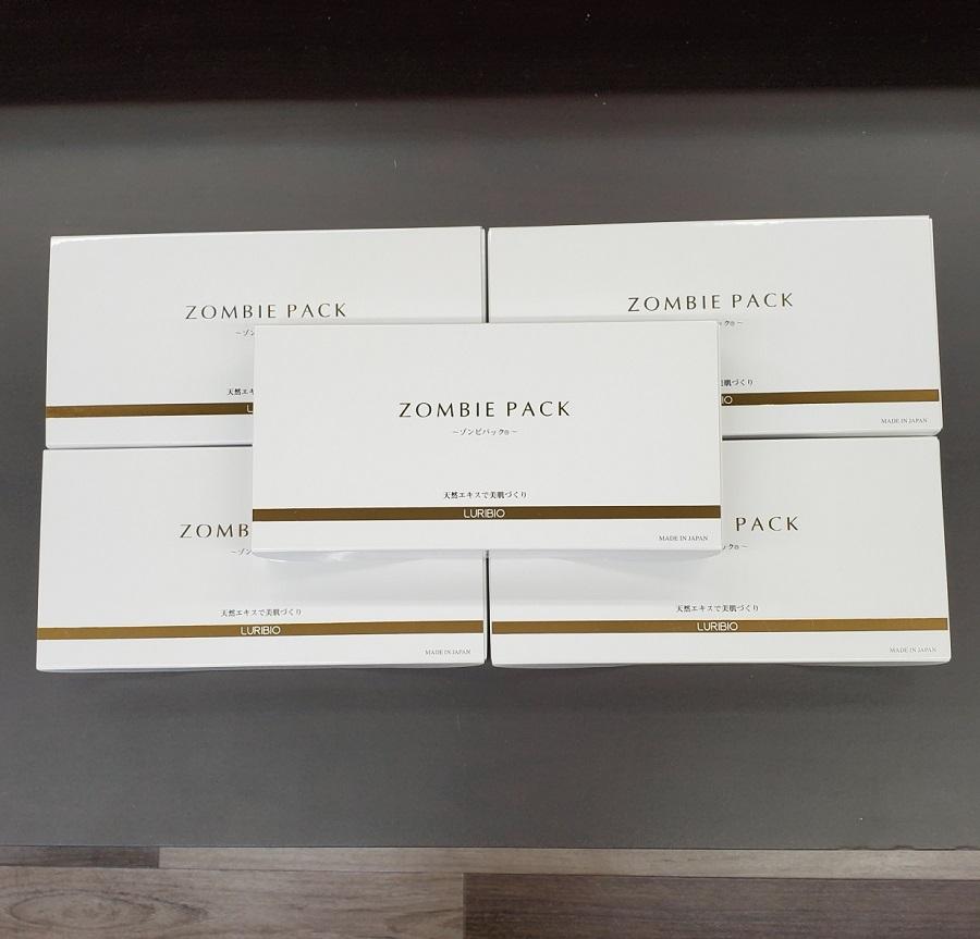 [送料無料] ルリビオ ゾンビパックPタイプ 5g×15袋入り×5個