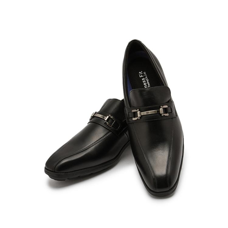 ビジネスシューズ 革靴ビジネスフィット ビットローファ
