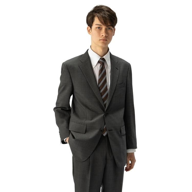 商い メンズ スーツ シングル ツーピース 2つボタン 超軽量 2P パンツウォッシャブル アウトレット カンサイ メーカー公式ショップ