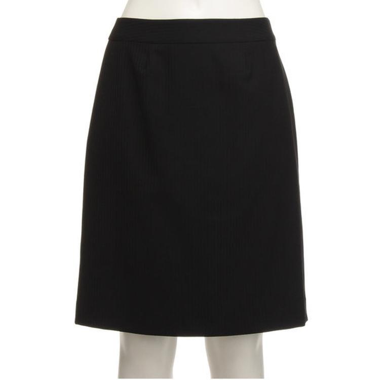 【ViVi fleurs】[通年物]スーパー120Sスカート/ブラック