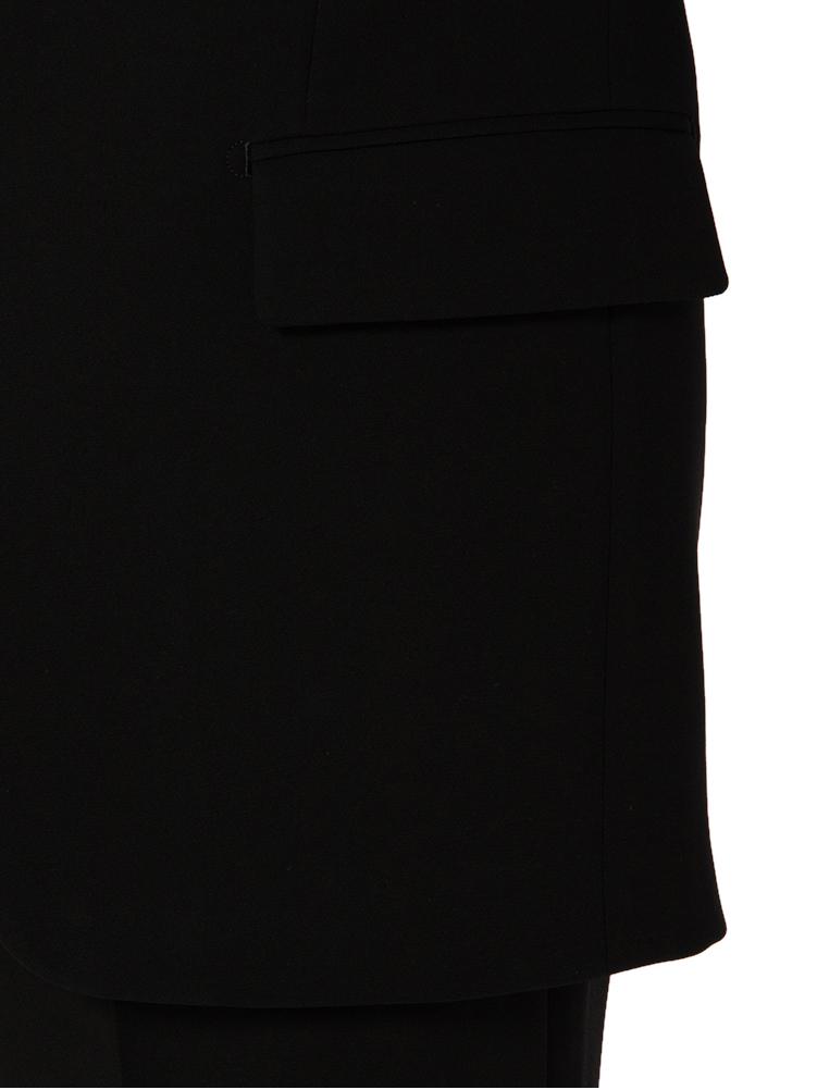 礼服 メンズフォーマルF2シングル2つボタンフォーマルスーツ/無地/ブラック