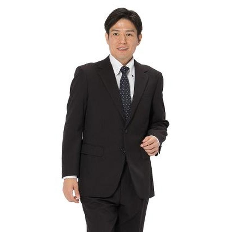 スーツ メンズ 背広 メンズスーツ 2つボタン 2ピース パンツウォッシャブル ワンタック 防シワ ストライプ グレー 秋冬 ポリエステル ゆったり REGENTHOUSE リージェントハウス メンズファッション スーツのはるやま