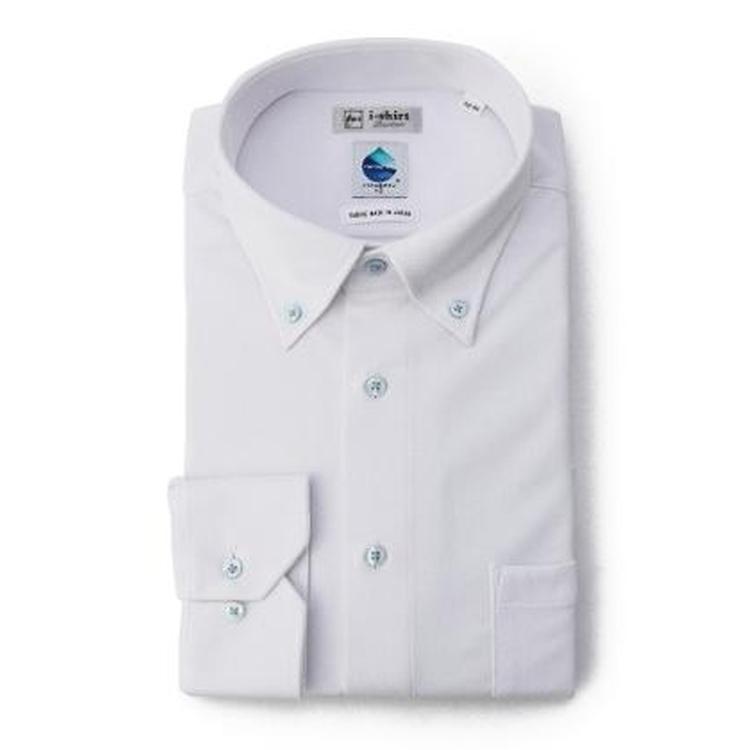 a9178cc53b740 ワイシャツ メンズ アイシャツ ノンアイロン カッターシャツ ワイシャツ メンズ 長袖 アイシャツ ボタンダウン 形態