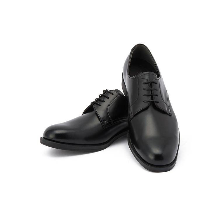 ビジネスシューズ 革靴ビジネスシューズ/プレーントゥ/ブラック