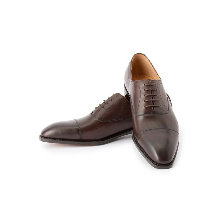 ビジネスシューズ 革靴RuckenBaccharEXEビジネスシューズ(グッドイヤー)/D.ブラウン