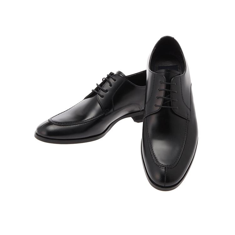ビジネスシューズ 革靴MARIOVALENTINOビジネスシューズ/Uチップ/ブラック