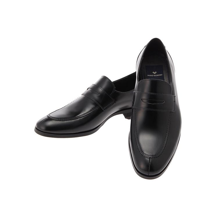 ビジネスシューズ 革靴MARIOVALENTINOビジネスシューズ/ローファー/ブラック