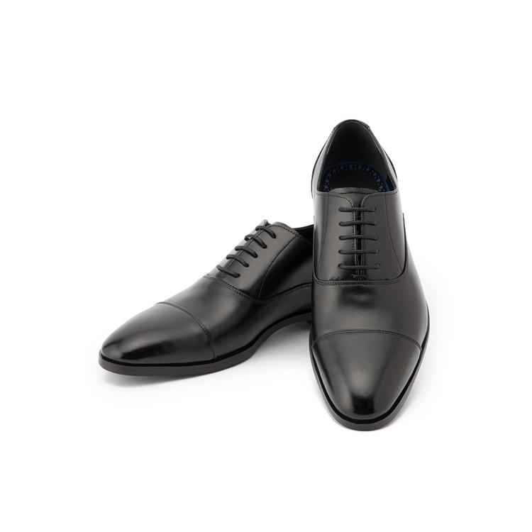 ビジネスシューズ 革靴MARIOVALENTINOビジネスシューズ/ストレートチップ/ブラック