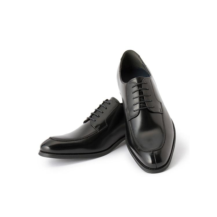 ビジネスシューズ 革靴RuckenBaccharBlackfaceビジネスシューズ/モカ/ブラック