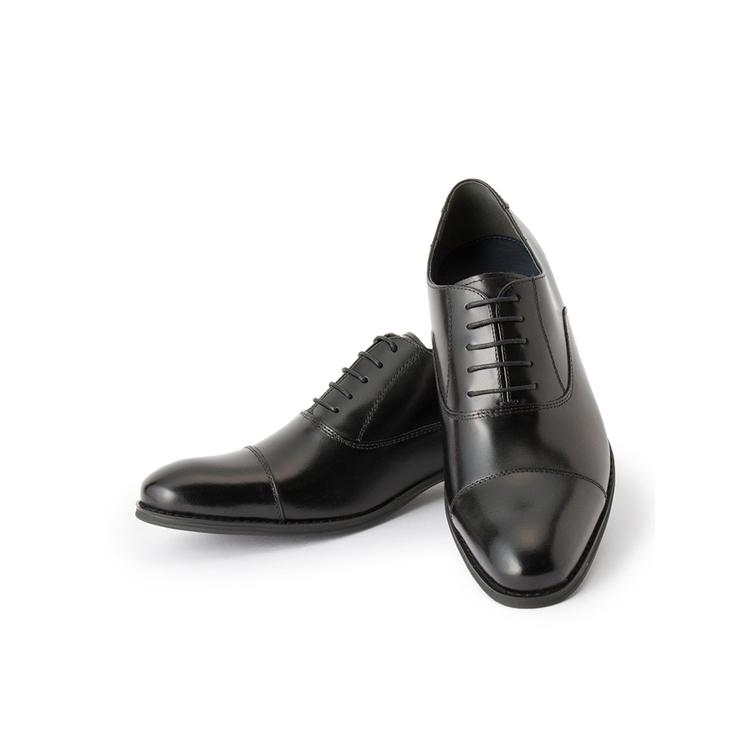 ビジネスシューズ 革靴RuckenBaccharビジネスシューズ/ストレートチップ/ブラック