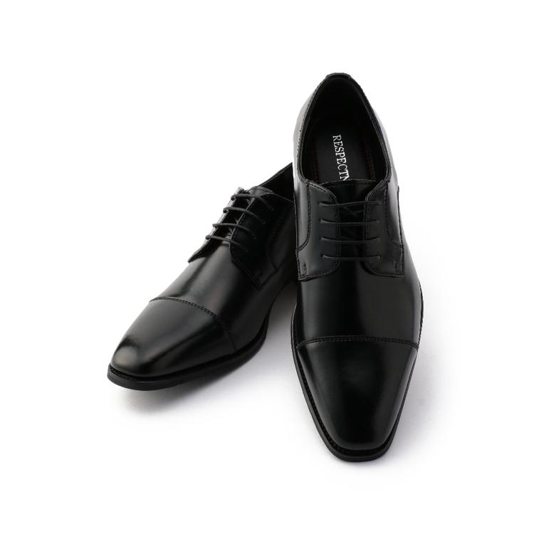 ビジネスシューズ 革靴革靴 ネロ外羽根ヒモ ストレートトゥ