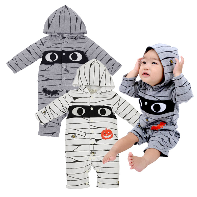 halloween cover all the mummy man halloween christmas new year cards baby wear kigurumi costume