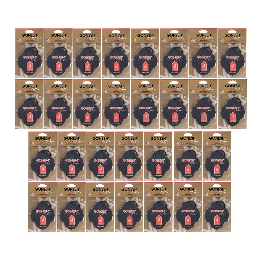 GONESH PAPER NO.4 30PCS / ガーネッシュ ペーパー NO.4 30枚セット / AIR FRESHENER 芳香剤