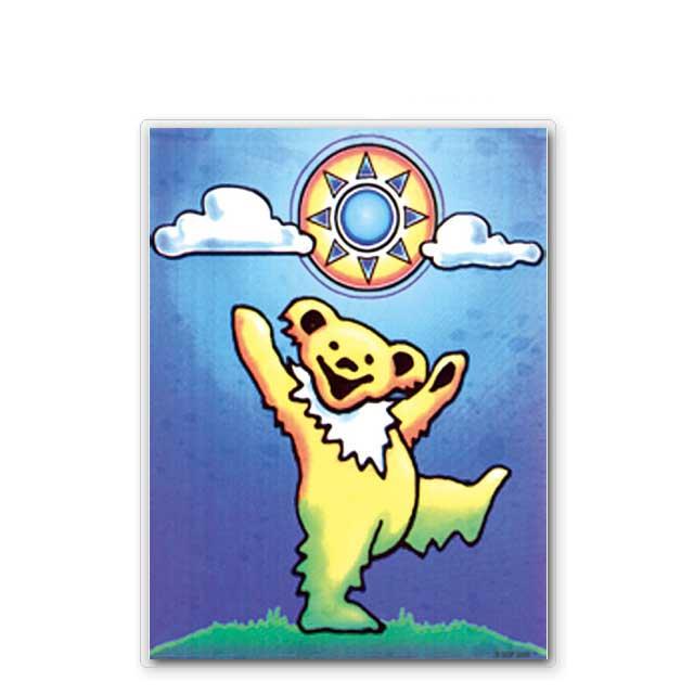 !! Sonny bear window sticker /GRATEFUL DEAD grateful dead Rainbow window  car bike sticker