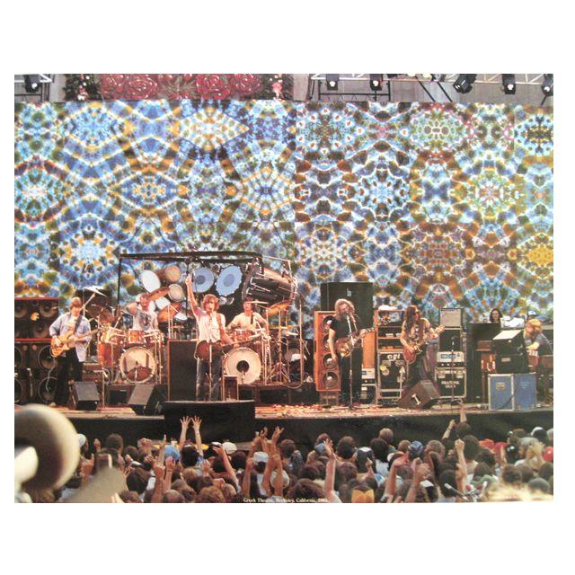 グリークシアター 1983 ポスター/GRATEFUL DEAD/グレイトフルデッド/ロック/ポスター/オフィシャル/インテリア