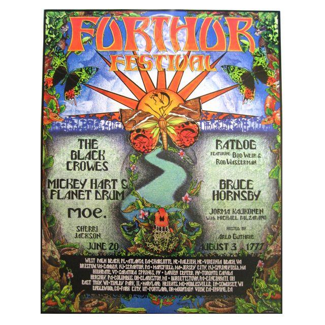 1997 ファザーフェスティバル ポスター/GRATEFUL DEAD/グレイトフルデッド/ロック/ポスター/オフィシャル/インテリア