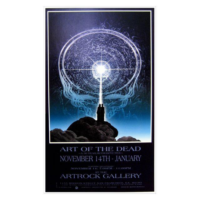 アート オブ ザ グレイトフルデッド エキシビジョン 1996 ポスター/GRATEFUL DEAD/グレイトフルデッド/ロック/ポスター/オフィシャル/インテリア