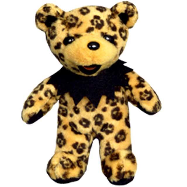5 INCH BEAR Lil del LIL DEL 5 inch grateful dead bomber dead eat a bear  stuffed animal