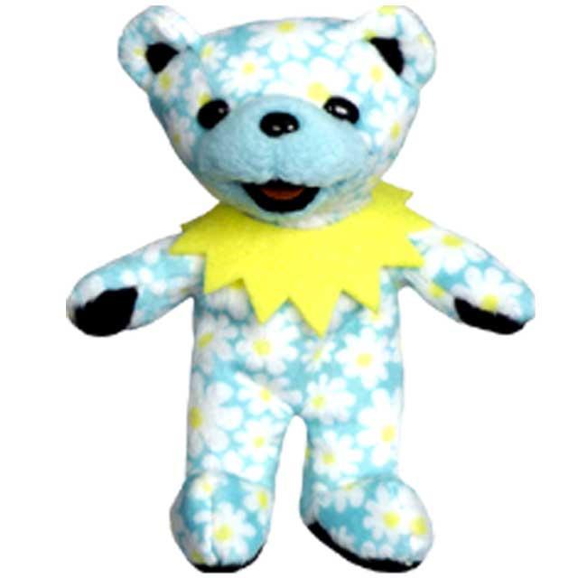 5 INCH BEAR lildaisy LIL DAISY 5 inch grateful dead bomber dead eat a bear  stuffed animal