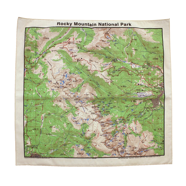 HARVEST MARKET: ☆ reviews ☆ Rocky Mountain National Park Toppo map ...