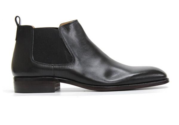 GERMINAL ジェルミナル 8511 BLACK ブラック サイドゴアブーツ 本革 革靴 黒 メンズ ドレス ビジネスシューズ フォーマル 紳士靴 ショートブーツ 【日本製】【送料無料】